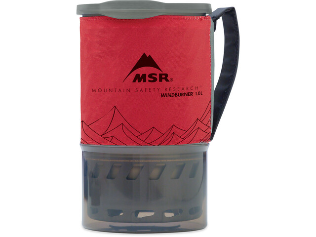 MSR WindBurner System 1l 3 largo, red